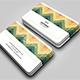 Horizontal WV Creative Business Card - GraphicRiver Item for Sale
