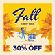 Fall Sale Flyer Set - GraphicRiver Item for Sale