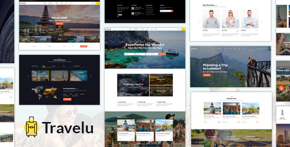 Travelu - Tour Booking HTML Template