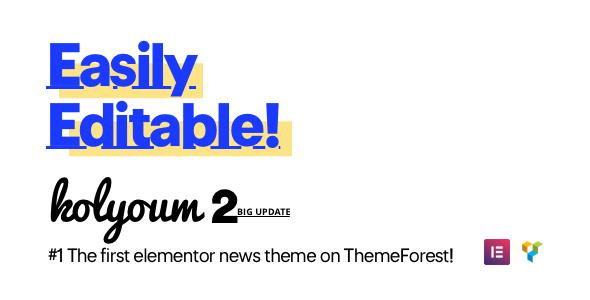 Kolyoum - Newspaper WordPress Theme