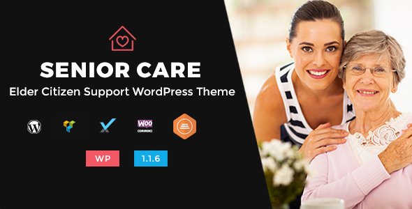 Senior Care - Elder Citizen Support WordPress Theme