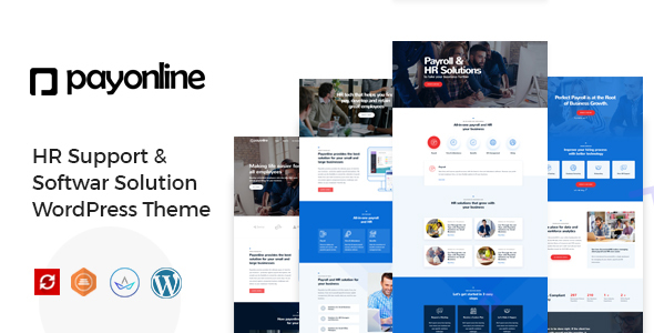 Payonline - HR Support WordPress Theme