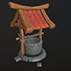 stylized well - 3DOcean Item for Sale