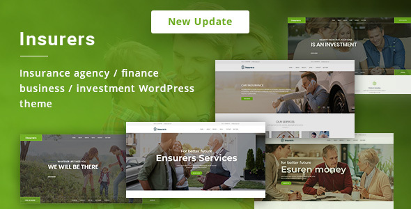 Insurers - Insurance Agency WordPress Theme