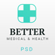 Better - Medical Clinic PSD Template - ThemeForest Item for Sale