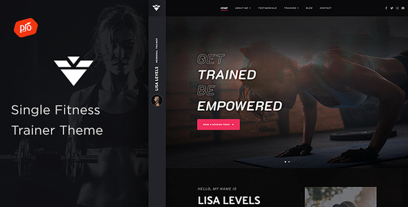 Solestep - Single Fitness Trainer Theme