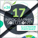 Infographic Solutions. Part 26 - GraphicRiver Item for Sale