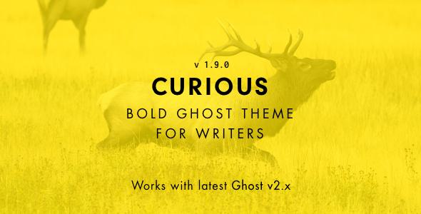 Ciekawy - blog i czasopismo Ghost Theme