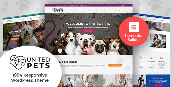 United Pets - Veterinary WordPress Theme