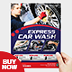 Express Car Wash Flyer Template - GraphicRiver Item for Sale