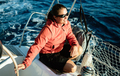 Attractive strong woman sailing with her boat - PhotoDune Item for Sale
