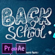 Back2School Broadcast Pack - VideoHive Item for Sale