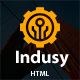 Indusy - Industrial & Factory Solutions HTML Template - ThemeForest Item for Sale