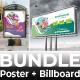 Bundle (Billboard+Poster) - GraphicRiver Item for Sale
