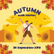 Fall Music Flyer Set - GraphicRiver Item for Sale