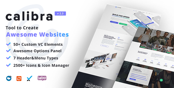 Calibra - Responsive Multi-Purpose WordPress Theme