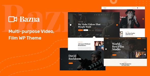 Bazna | Multipurpose Film Studio WordPress Theme