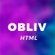 Obliv - Creative HTML Template - ThemeForest Item for Sale