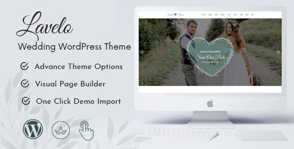 Lavelo - Wedding WordPress Theme