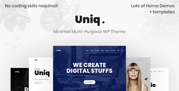 Uniq - Minimal Creative