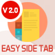 Easy Side Tab Pro - Responsive Floating Tab Plugin For Wordpress - CodeCanyon Item for Sale