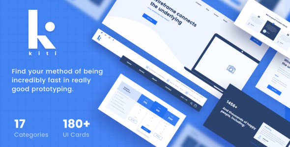 Kiti - Ultimate Wireframe Kit