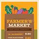 Farmer's Market Event Flyer - GraphicRiver Item for Sale