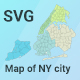 Map of New York City - CodeCanyon Item for Sale