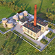 Heating plant - 3DOcean Item for Sale