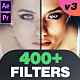 400 Color Grading Filters - VideoHive Item for Sale