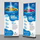 Car Wash Rollup Banner - GraphicRiver Item for Sale