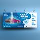 Car Wash Service Billboard - GraphicRiver Item for Sale