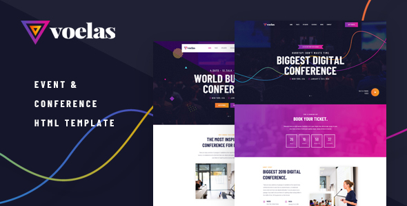 Voelas - Event & Conference HTML Template