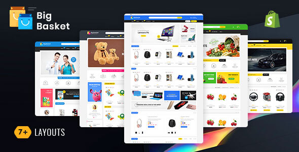 Shopify Themes from ThemeForest