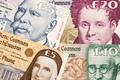 Ireland Republic Pounds a background - PhotoDune Item for Sale