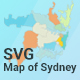 Map of Sydney - CodeCanyon Item for Sale