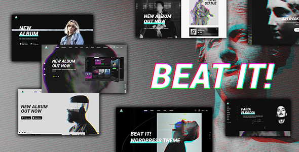 Beatit - A Modern Music WordPress Theme