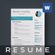 Clean Resume/CV - GraphicRiver Item for Sale