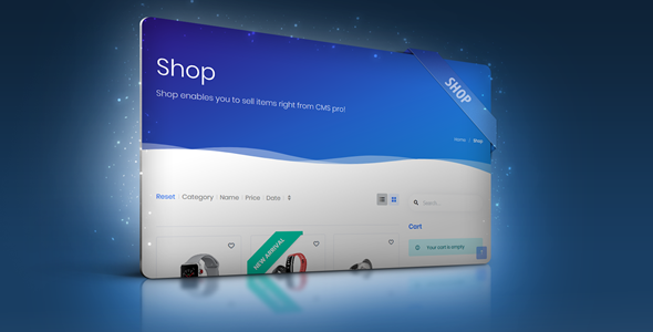 Shop Module for CMS pro Download