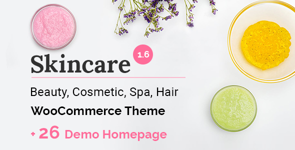 Skincare - Cosmetics Beauty Spa Shop WooCommerce WordPress Theme