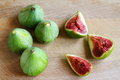 Fresh figs on wooden cutting board - PhotoDune Item for Sale
