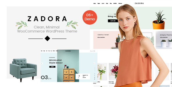 Zadora - Clean, Minimal WooCommerce WordPress Theme