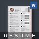 Resume - Denis - - GraphicRiver Item for Sale