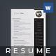 Golden Resume - Noah - - GraphicRiver Item for Sale