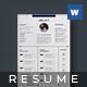 Creative Resume - Karl - - GraphicRiver Item for Sale
