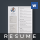 Resume - James Band - - GraphicRiver Item for Sale