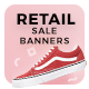 Retail Sale Web Ad Banners - GraphicRiver Item for Sale