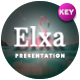 Elxa Tropical Keynote Template - GraphicRiver Item for Sale