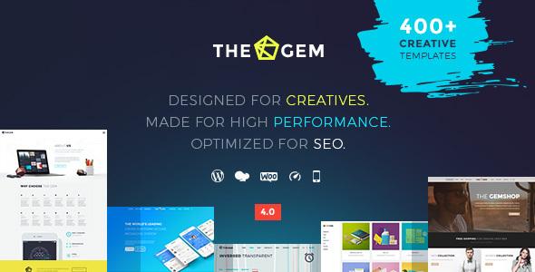 TheGem - Kreatywny, wszechstronny i wydajny motyw WordPress