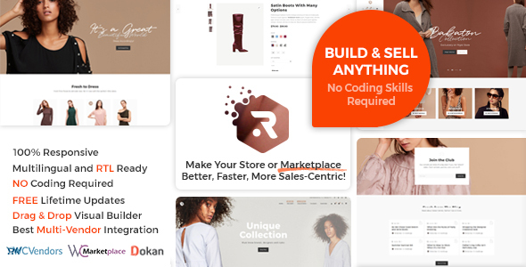 Rigid -  WooCommerce Theme for Enhanced Shops and Multi Vendor Marketplaces